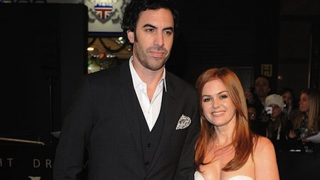 Thespian Philanthropists Sacha Baron Cohen and Isla Fisher